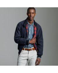 J.crew Baracuta® G9 Wax Harrington Jacket in Blue for Men (navy ... 013b2ec8b6
