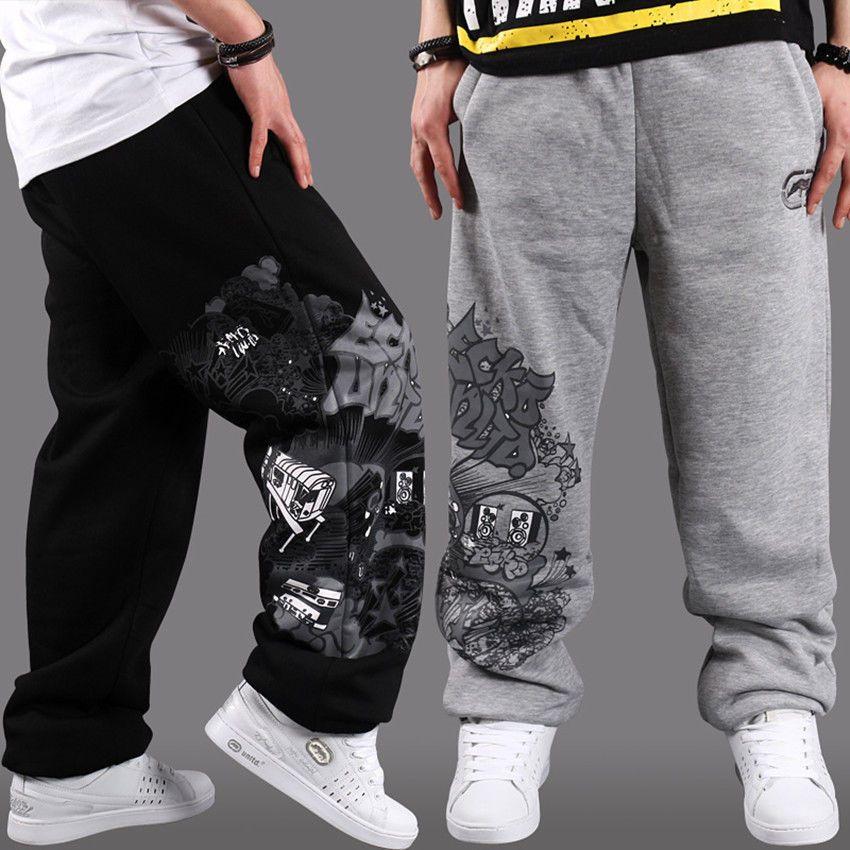 Hip Hop B Boy Mens Skateboarding Sweatpants Pure Cotton Pants Trousers New Man Clothing Mens Outfits Hip Hop Outfits