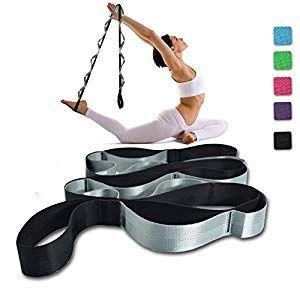 sankuu yoga strap multiloop strap 12 loops yoga stretch