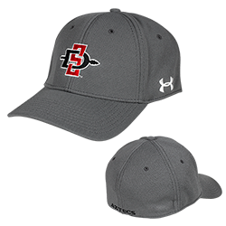 fa8110ce8a5 Under Armour SD Spear Hat Under Armour stretch fit hat featuring the  interlocking SD Spear logo embroidered on the front and Aztecs on the back.