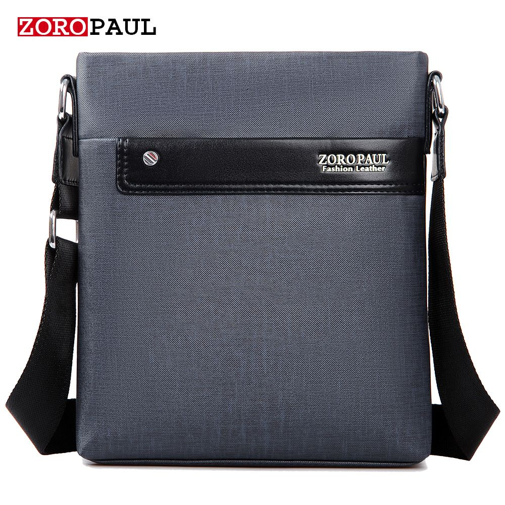 ZOROPAUL NEW Men Fashion PU Leather Men's Messenger Business ...