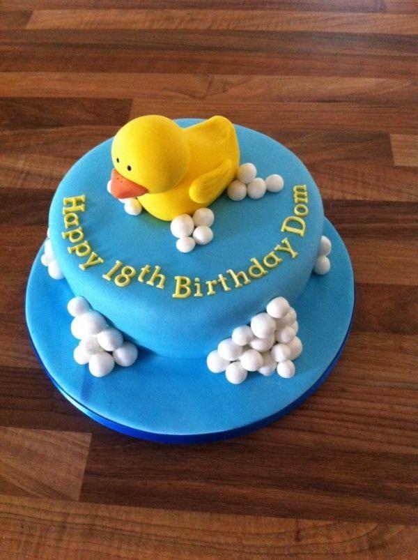 Fine Rubber Duck Cake Duck Cake Funny Birthday Cards Online Inifodamsfinfo