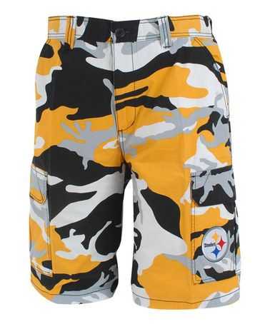 2629c597 This Pittsburgh Steelers Camo Shorts - Men by North Bay Apparel is ...