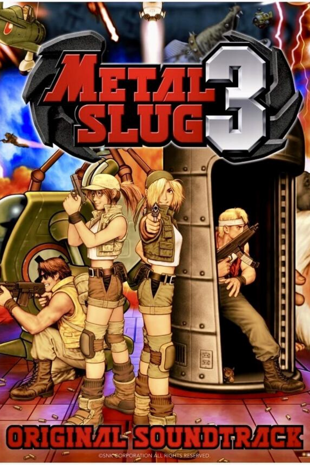 Metal Slug 3 Vinyl Record Soundtrack In 2020 Soundtrack Vinyl Records Slugs
