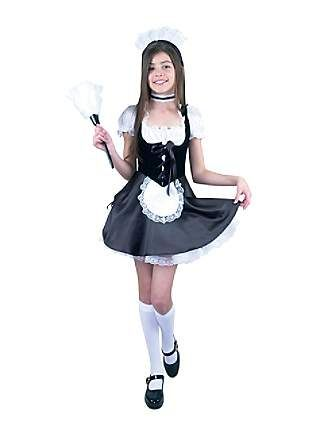 girls maid costume Image teen french tween
