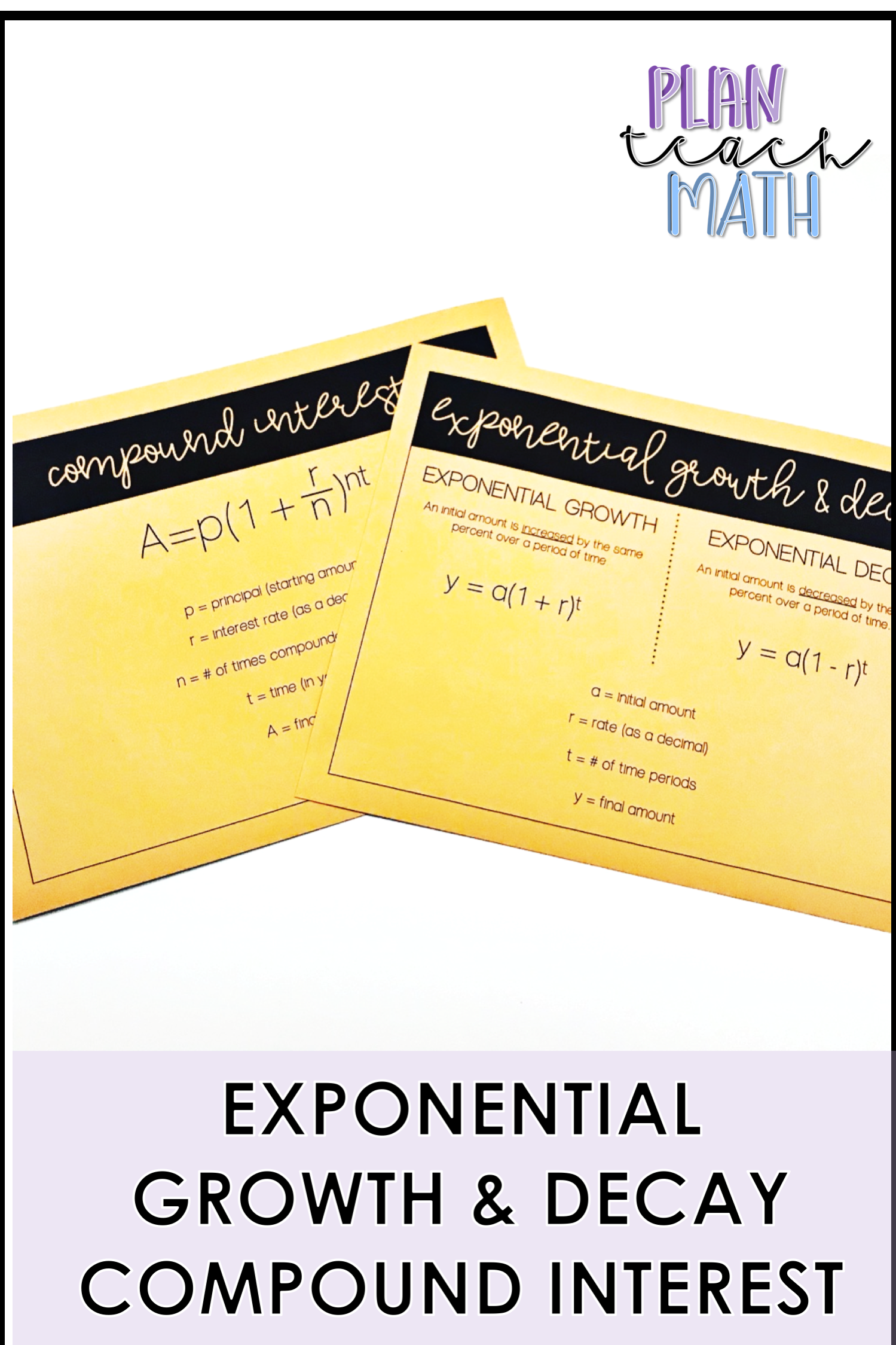 Visual For Students When Teaching Exponential Growth
