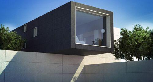 #infografía en #3D para #diseño de #arquitectura #moderna