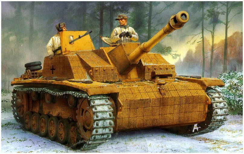 StuG III Ausf. G Early Production con Zimmerit