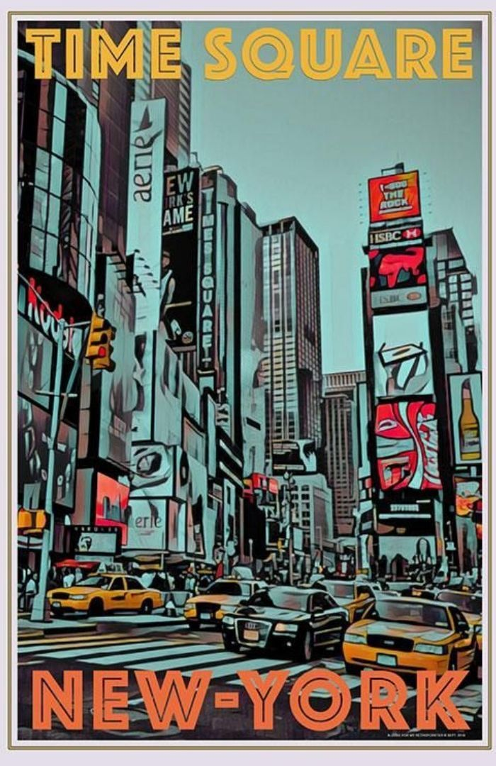 The Best Vintage Travel Posters New York City