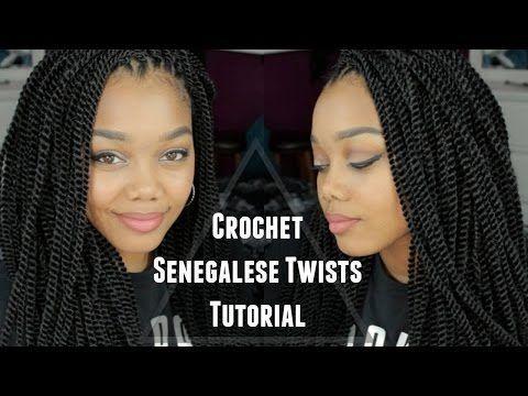 Enjoyable Black Hair Braids Tutorial Crochet Senegalese Twists Outre Hairstyles For Women Draintrainus