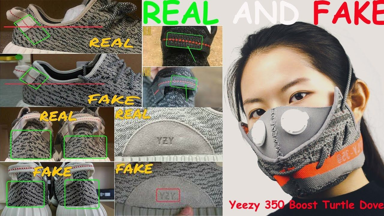 ab0b0156461 Adidas Yeezy Boost 350 Turtle Dove. Real Vs. Fake from - boozaa.pw ...