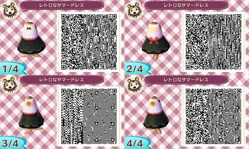 Pin Von Marleen Auf Acnl Kleider Ac New Leaf Animal Crossing