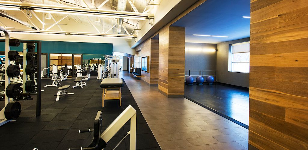 Luxury Gym Pent House Room Layout