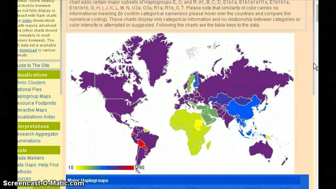 World atlas of genetic ancestry 6 majority y dna haplogroups in world atlas of genetic ancestry 6 majority y dna haplogroups in each gumiabroncs Choice Image
