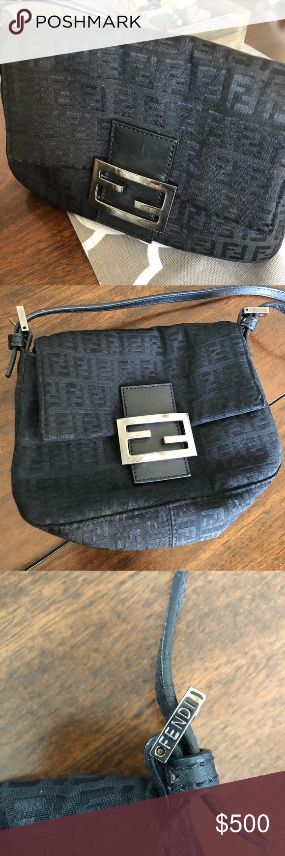 Vintage fendi mini baguette bag Fendi mini bag, Mini bag