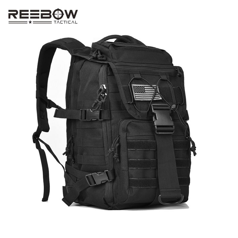 Military Tactical Backpack Army 3 Day Assault Pack Bug Out Bag Molle Laptop Backpacks  Rucksack for 14
