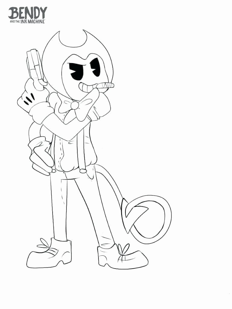 - Bendy Printable Coloring Pages Cartoon Coloring Pages, Bendy And