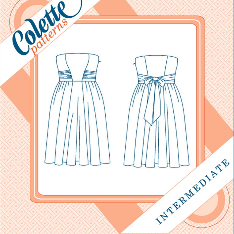 Colette No. 1004 - Eclair⎜Dress Pattern