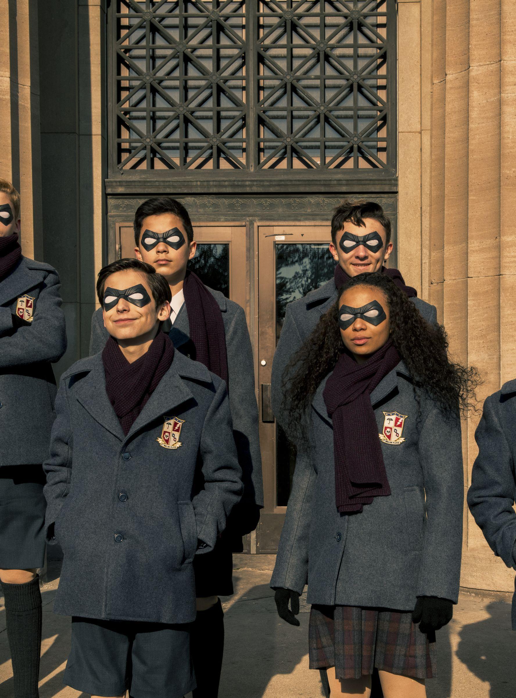 Netflix S The Umbrella Academy Is The Darkest Superhero