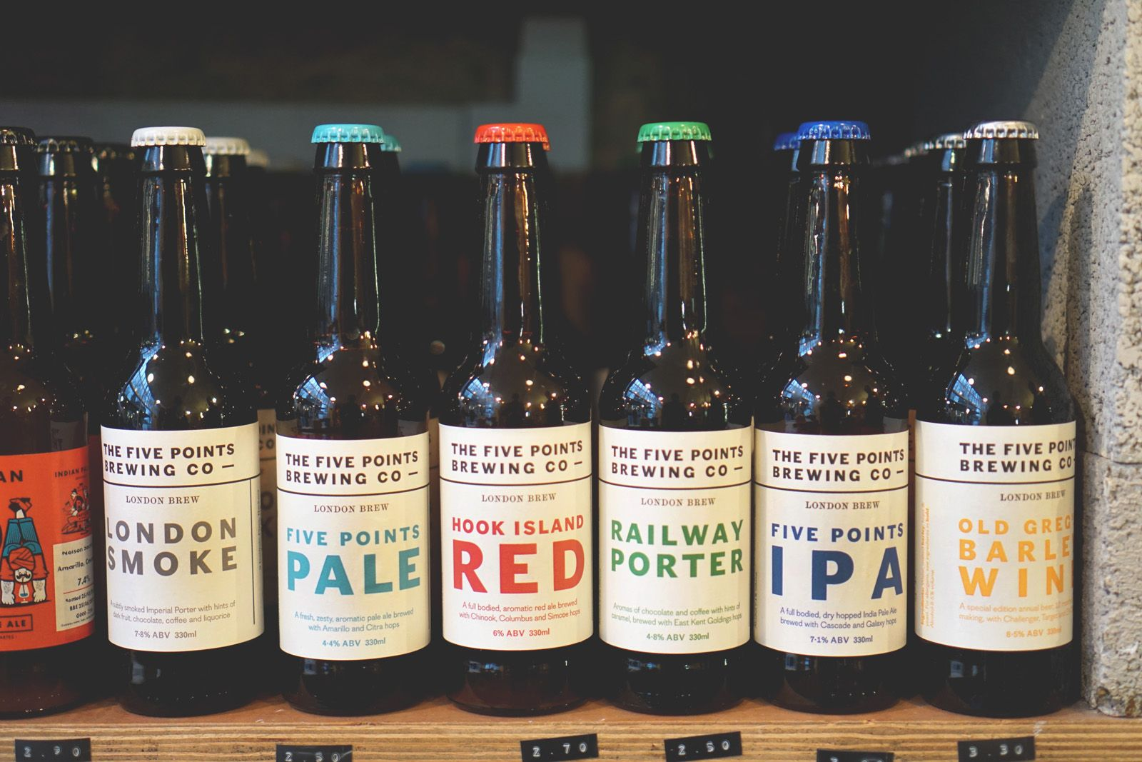 Five Points Brewery Brewing Beer Brands