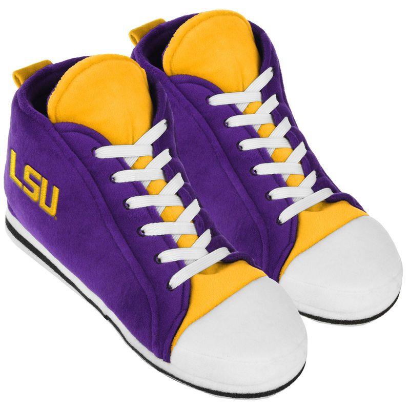 LSU Tigers High Top Sneaker Slippers High top sneakers