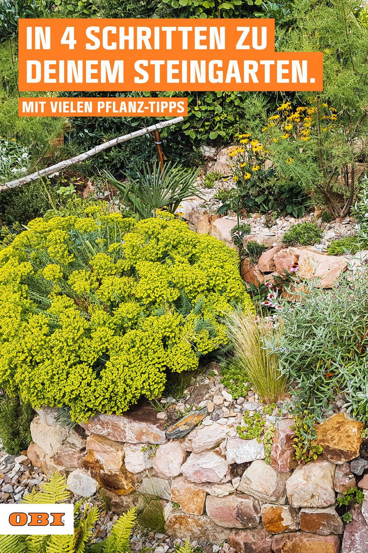 In vier Schritten zu deinem Steingarten