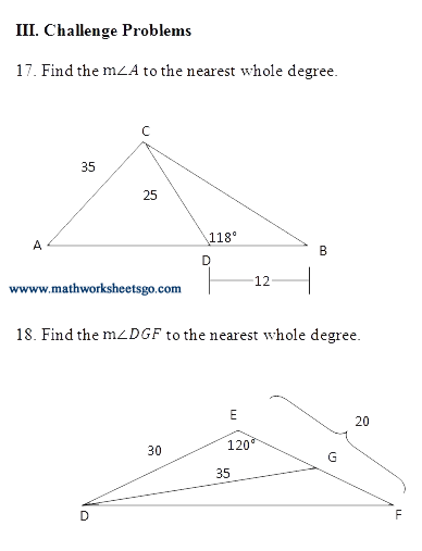Law of Sines and Cosines picture | Math12.2 | Pinterest ...