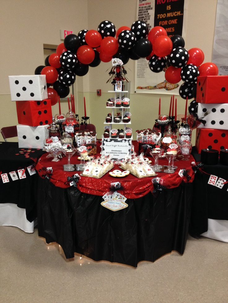 find this pin and more on bday parties - Casino Party Decorations