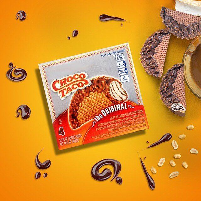 Saveco سيفكو On Instagram آيس كريم جوكو تاكو متوفر في فريزرات سيفكو في سيفكو Choco Taco Ice Cream Is Available In Sav Instagram Posts Enamel Pins Tacos