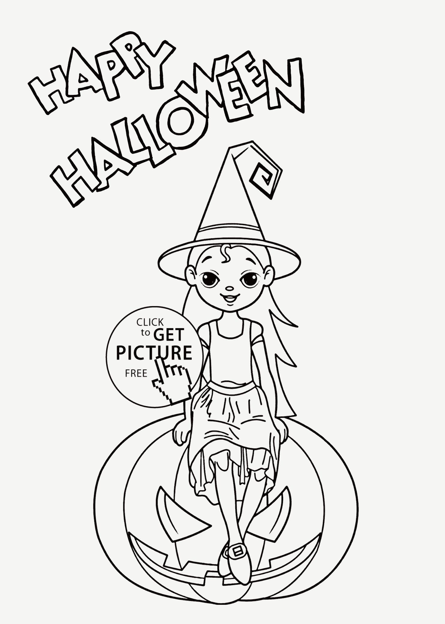 Scary Halloween Coloring Pages Unique 20 Easy Halloween