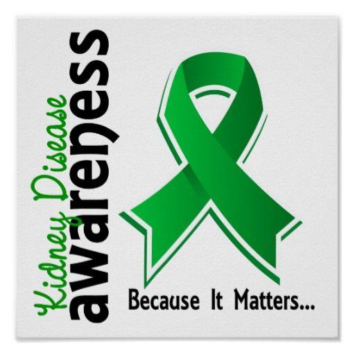 kidney disease awareness 5 poster
