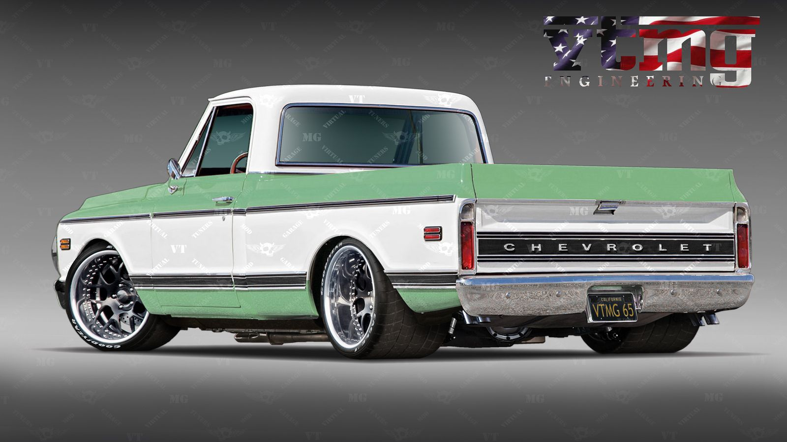 C10 Pro Touring D Teflon C10 Pickup Trucks Chevy Trucks