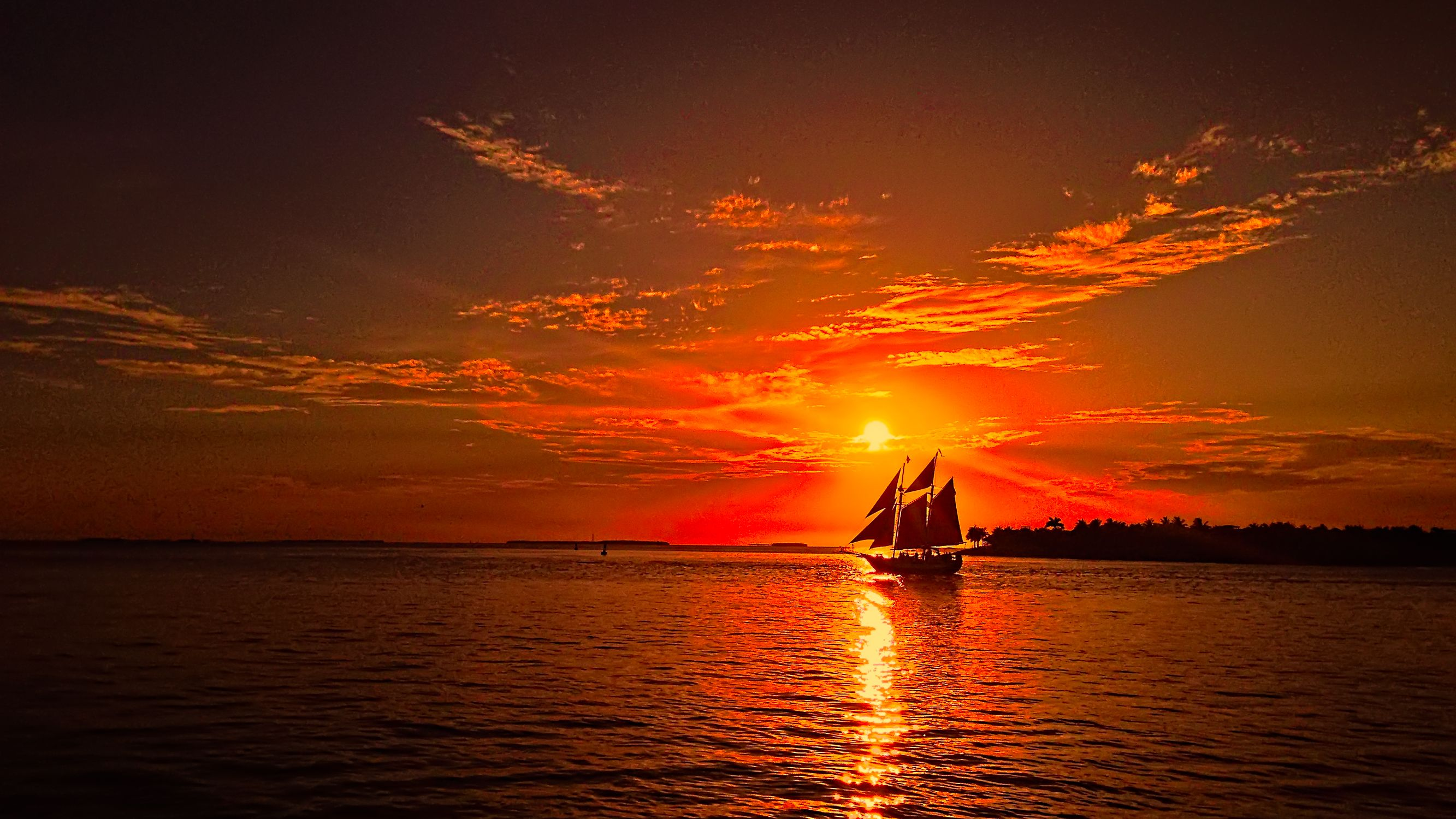 Sunset in Key West - view from Mallory Square ac972ed39d0