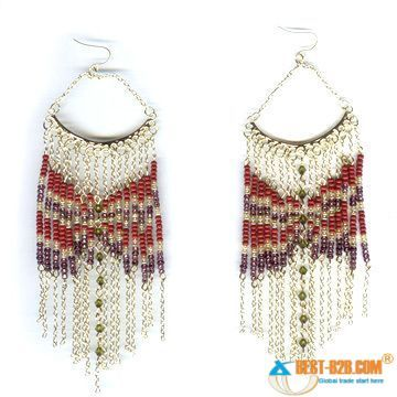 free sead bead earring patterns | seed beads earrings description lead and nickle freeseed beads ...