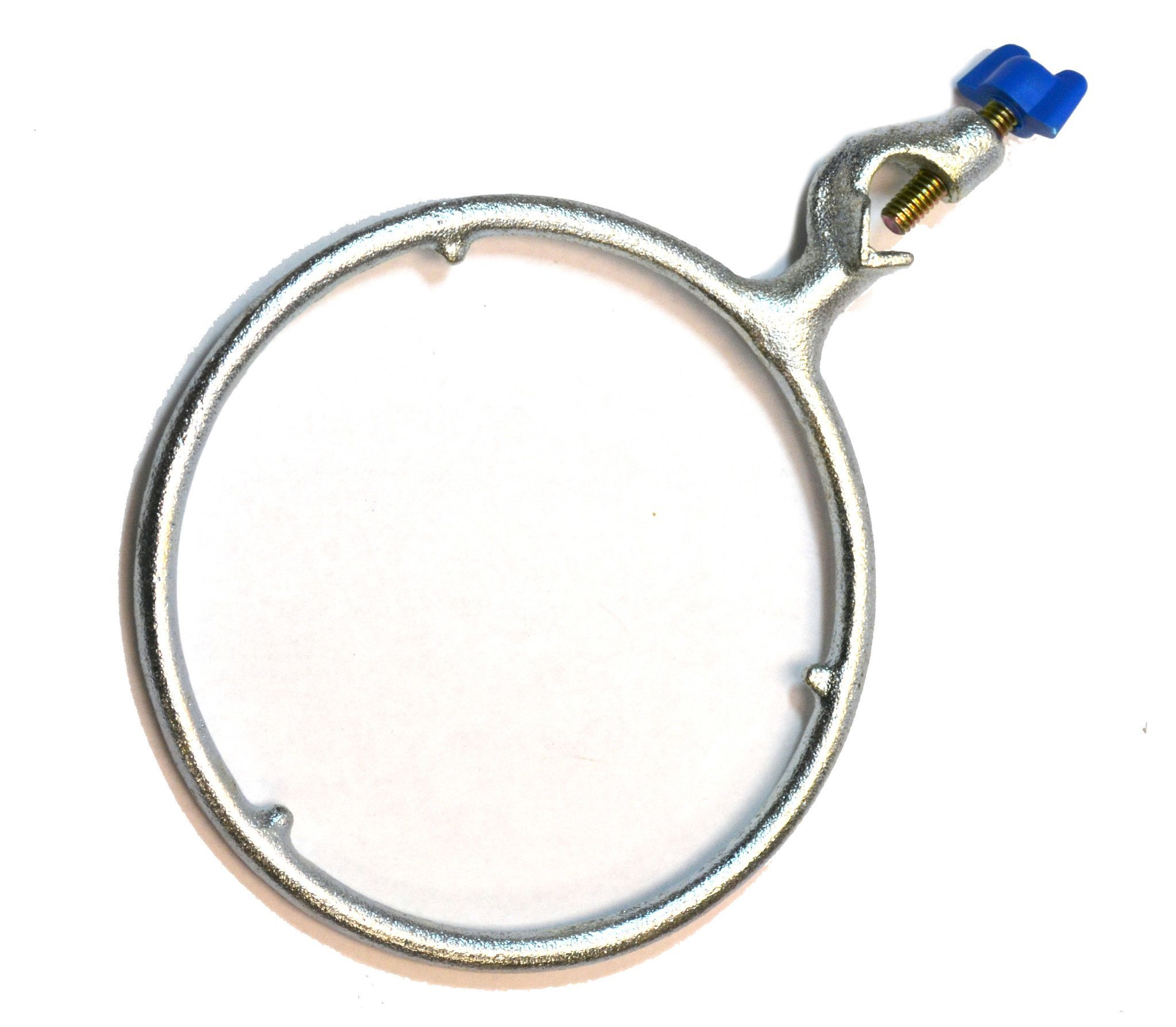 """Eisco Labs 6"""" diameter Cast Iron Closed Ring Clamp with Boss Head ... for Ring Clamp Chemistry  117dqh"""