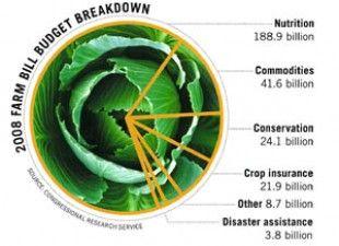 2008 Farm Bill Budget Breakdown