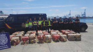 Incautaron 2 mil 500 kilos de cocaína provenientes de Venezuela en España
