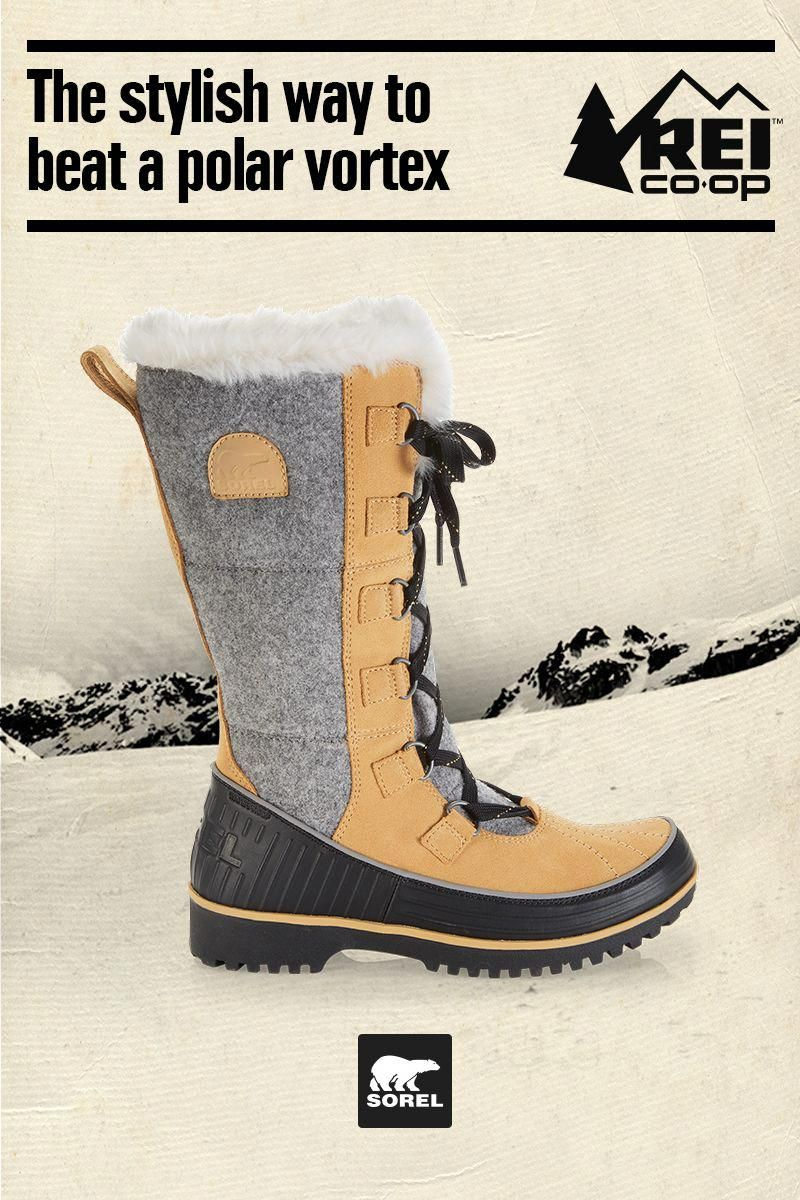 6a2f1137ca9 They smile at blizzards—the Women s Sorel Tivoli High II Snow Boots are  insulated to keep you warm and are made of waterproof suede to keep you dry.