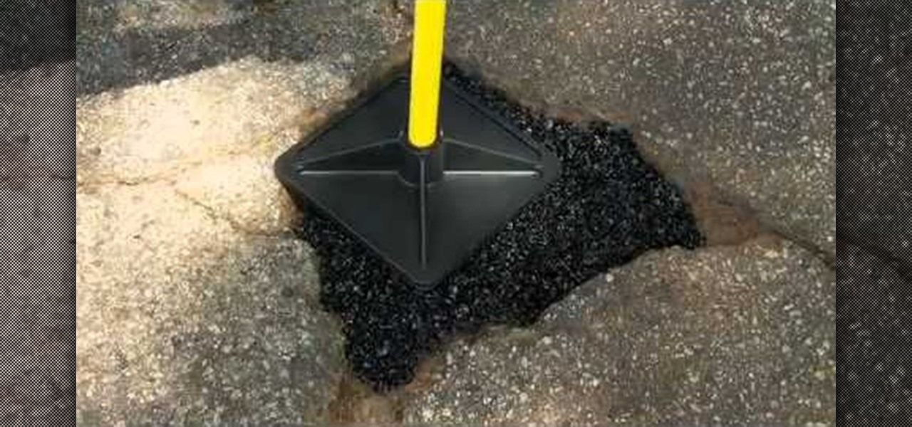 How To Patch Ghastly Potholes In Driveways With Qpr S Pothole Repair Driveway Repair Sidewalk Repair Outdoor Improvements