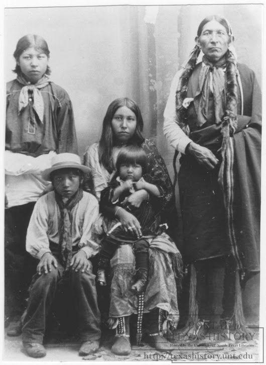 Comanche Natives, 1900