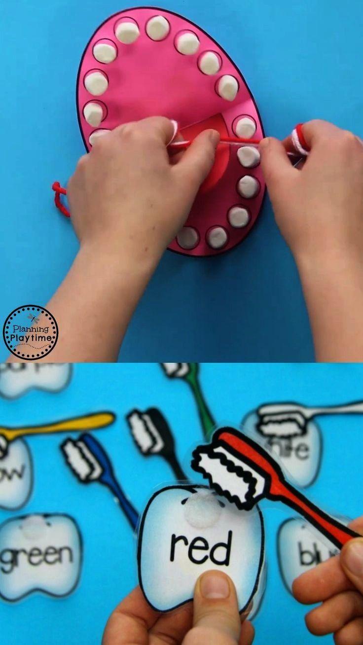 Health Preschool Activities Dental Health Preschool Activities for preschoolers. Teach kids and tod