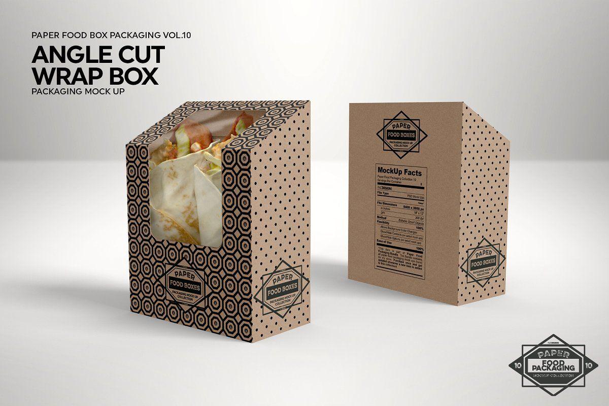 7259+ Paper Food Packaging Mockup Bundle Zip File