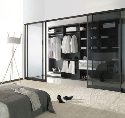 porte int rieure coulissante une id e pour gagner de la place interior bedroom pinterest. Black Bedroom Furniture Sets. Home Design Ideas