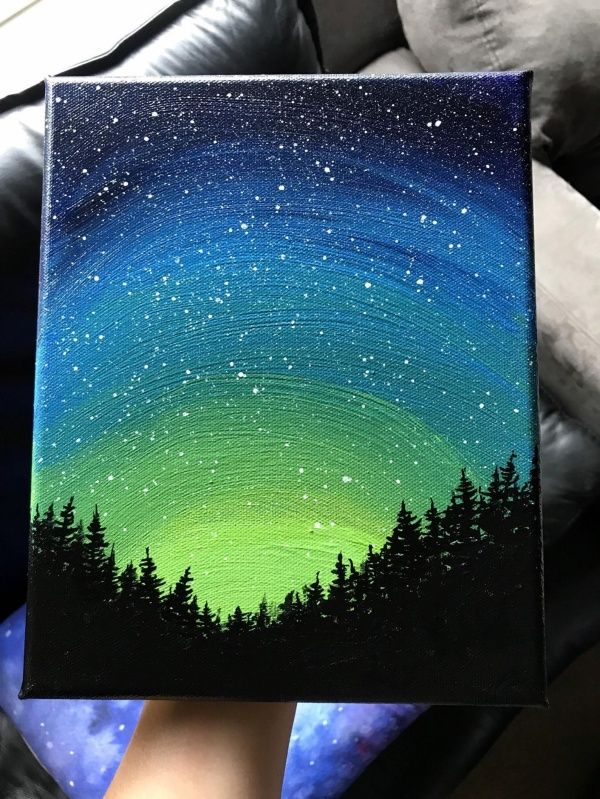 95 Easy Canvas Painting Ideas For Beginners – Fashion Hombre