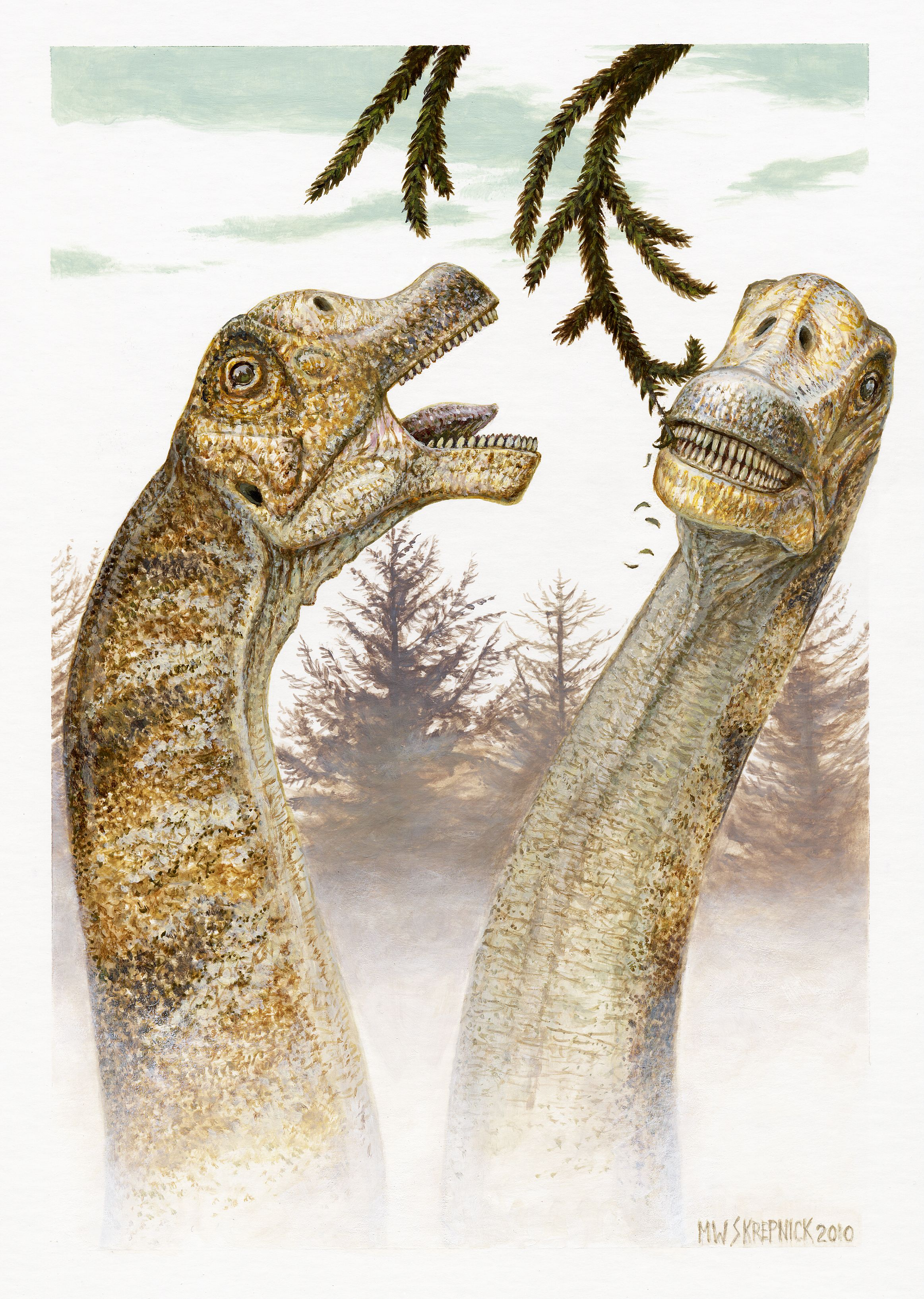 "Abydosaurus ""Abydos lizard"" Prehistoric animals"