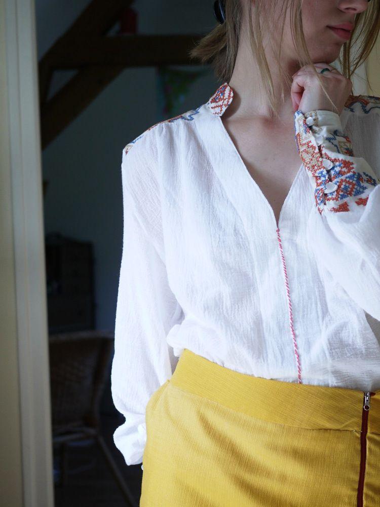 Blusen Schnittmuster - Inspiration für den Blusen-Sew-Along ...