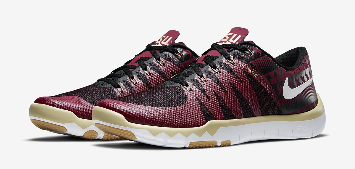 competitive price c6063 aa85f Nike Free TR 5 FSU Available through Lids, Eastbay, Champs ...