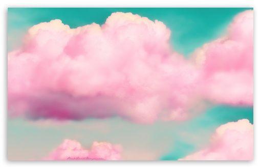 Pink clouds Nuvens cor de rosa, Arte de nuvem, Wallpaper