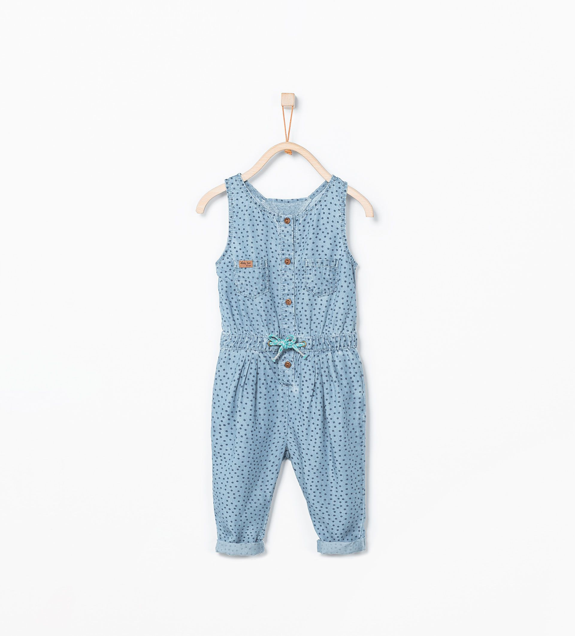 Combinaison longue denim robes b b fille 3 mois 3 ans enfants zara canada fashion - Vetement bebe fille fashion ...