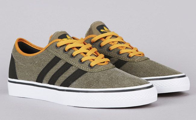 Adidas Skateboarding Adi Ease Craft Gold Adidas Skateboarding